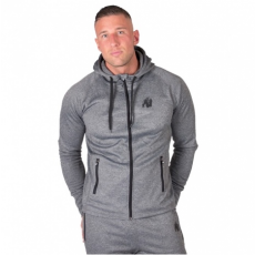 BRIDGEPORT ZIPPED HOODIE - DARK GRAY (DARK GRAY) [XXL]
