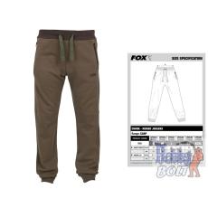 FOX CHUNK™ Ribbed Joggers Chunk Ribbed Joggers Khaki - Khaki melegítő nadrág