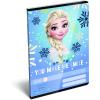 LizzyCard Füzet tűzött A/5 vonalas Frozen Smile 17359417