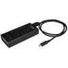 Startech 7 PORT USB C HUB - C TO C & A .