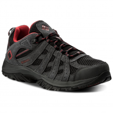 Columbia Bakancs COLUMBIA - Canyon Point YM5417 Black/Mountain Red 010