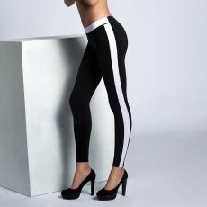 COTONELLA GD201 Női oldalt csíkos leggings