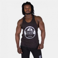 GORILLA WEAR Mill Valley Tank Top - Black
