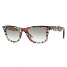 Ray-Ban RB2140 108332 WAYFARER RED-BIEGE CRYSTAL GREY GRADIENT napszemüveg