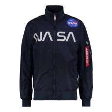 Alpha Industries NASA JACKET - replica blue