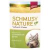 Schmusy Nature Vollwert-Flakes nyül és rizs mártásban 22x100g