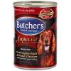 Butcher's Superior kacshússal csirkehússal és zöldségekkel - húsdarabok szószban 3x400g + 400g AJÁNDÉK!!!