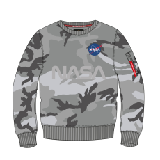 Alpha Indsutries NASA Reflective Sweater - greycamo