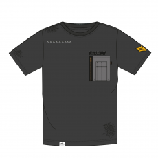 Alpha Indsutries Utility Pocket T - greyblack