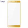 Xiaomi Redmi 4, Kijelzővédő fólia, ütésálló fólia, Tempered Glass (edzett üveg), IMAK, arany