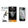 Apple iPhone 4 / 4S, Kijelzővédő fólia, ütésálló fólia, Tempered Glass (edzett üveg), Clear
