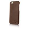 Cerruti 1881 iPhone 6/6S Smooth Split Leather hátlap, tok, barna