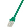 LogiLink patch kábel; Cat.6 U/UTP EconLine 1;50m zöld
