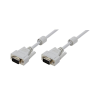 LogiLink - Cable VGA with Ferrite Cores; 5 Meter