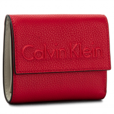 Calvin Klein Black Label Kis női pénztárca CALVIN KLEIN BLACK LABEL - Edge Medium Trifold K60K603909 618