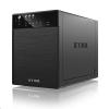 "RaidSonic ICY BOX-20640 RaidSonic ICY BOX 4x3.5"" SATA HDD külső ház USB 3.0 és SATA fekete /IB-3640SU3/"