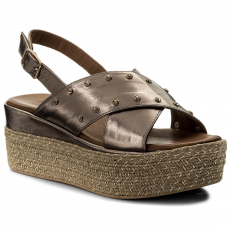 INUOVO Espadrilles INUOVO - 8863 Pewter
