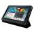 4world Galaxy Tab 2 műbőr tok-állvány, Folded Case, 7, fekete (09107)