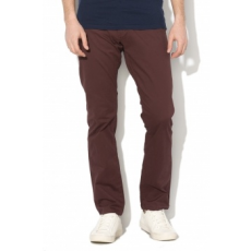 Selected Homme , Paris chino nadrág, lila, W31-L34 (16057025-DECADENT-CHOCOLATE-W31-L34)