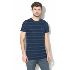 Jack Jones Jack&Jones, Tom Slim-Fit póló zsebbel a mellrészen, Tengerészkék, M (12131545-MEDIUM-BLUE-DENIM-M)