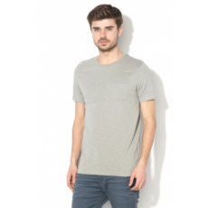 Jack Jones Jack&Jones, Wade slim fit póló, Szürke, M (12133861-MONUMENT-M)