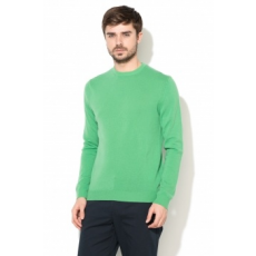 United Colors of Benetton , Merinó gyapjú regular fit pulóver, Zöld, EL-XXL (1002U1E12-108-EL-XXL)