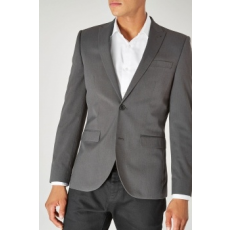 Next , Slim fit zakó, Antracitszürke, 36R (174900-GREY-36R)
