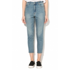 Cheap Monday , Donna magas derekú slim fit farmernadrág, Világoskék, W29-L32 (0446150-PENNY-BLUE-W29-L32)