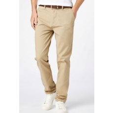 Next , Slim fit chino nadrág övvel, Bézs, 32L (166131-BEIGE-32L)