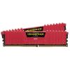 Corsair DDR4 32GB PC 2400 CL14 CORSAIR KIT (2x16GB) Vengeance Red  CMK32GX4M2A2400C14R