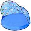 Strand sátor UV védelemmel - kék