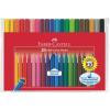 Faber-Castell Rostirón készlet háromszögletű Grip 20 különböző szín