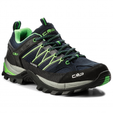 CMP Bakancs CMP - Rigel Lowtrekking Shoes Wp 3Q54457 B.Blue/Gecko 51AK