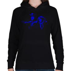 PRINTFASHION Toy Story - Női kapucnis pulóver - Fekete