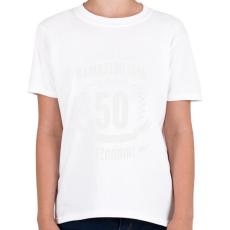 PRINTFASHION kamasz-50-white - Gyerek póló - Fehér