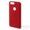 4smarts Cupertino Samsung G955 Galaxy S8+ szilikon hátlap tok, piros