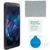 4smarts 360° Védő Szett Apple iPhone 8/7 szilikon hátlap tok + üveg védőfólia, fekete