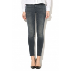 Only , Carmen skinny fit farmernadrág, Sötétkék, W32-L30 (15145320-DARK-BLUE-DENIM-W32-L30)