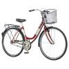 Visitor Lowland női városi kerékpár Bordó