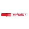 "FLEXOFFICE ""WB02"" 2,5 mm kúpos piros táblamarker"