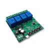 - 5V-32V négy áramkörös Sonoff kompatibilis, WiFi-s, távvezérelhető okos kapcsoló relé, impulzus kapcsolási üzemmóddal