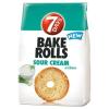 7DAYS Bake Rolls tejfölös-hagymás ízű kétszersült 80 g