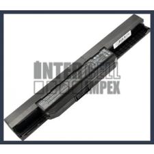 A43E 4400 mAh 6 cella fekete notebook/laptop akku/akkumulátor utángyártott asus notebook akkumulátor