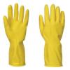 A800 - Háztartási latex kesztyű  - sárga