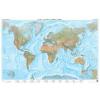 A Föld tengerdomborzata falitérkép - f&b