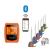 A-HOME Professzionális maghőmérő, digitális kijelzővel Bluetooth kapcsolattal, 6 szondás hőmérő