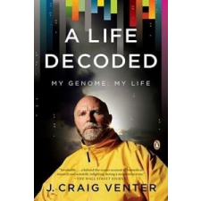 A Life Decoded – J. Craig Venter idegen nyelvű könyv