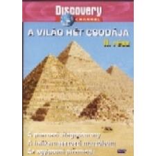 A világ hét csodája 2. (Discovery) (DVD) ismeretterjesztő