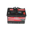 ABS autó akkumulátor akku 12v 74ah jobb+