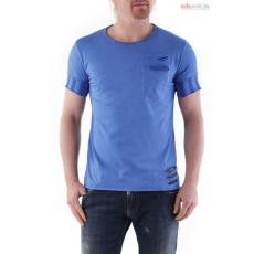 Absolut joy férfi kék rövid ujjú póló WH4-K0605
